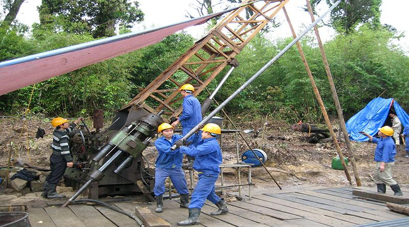 Geological exploration drilling